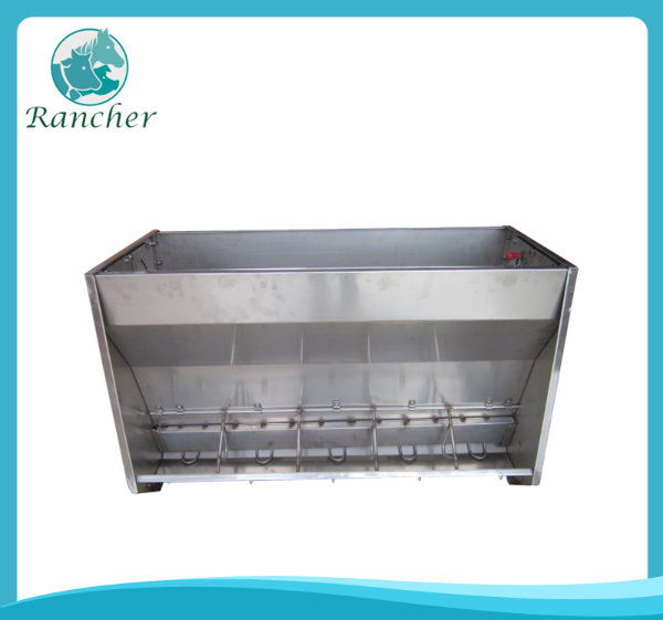 Double-side Stainless Steel Feed Trough for Pigs