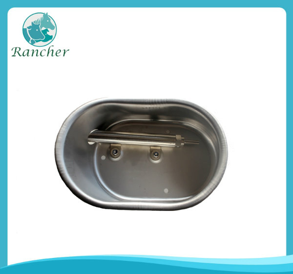 Stainless steel pig drinking bowl